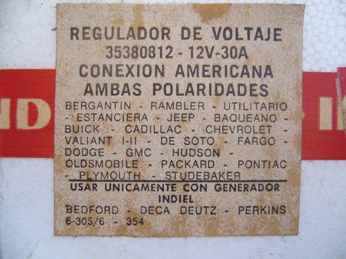 Repuesto Regulador Voltaje 12 Volts