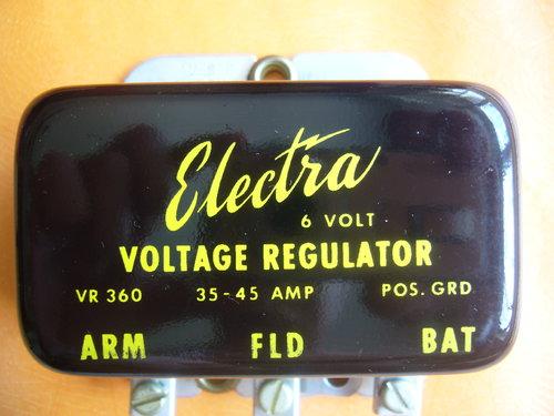 Part Electra Voltage Regulator