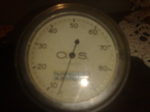 Part Speedometer French 1910