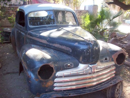Part Bodywork 1946 Ford Coupe