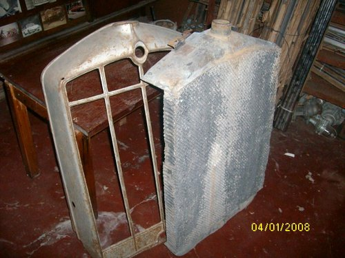 Part Mask Radiator Honeycomb Bees Rugby 1928-29