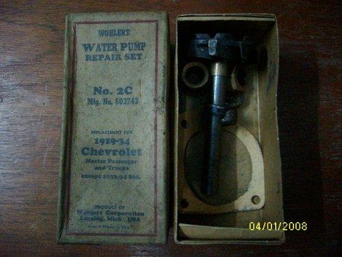 Repuesto Reparaci�n Bomba Agua Chevrolet 1929-34