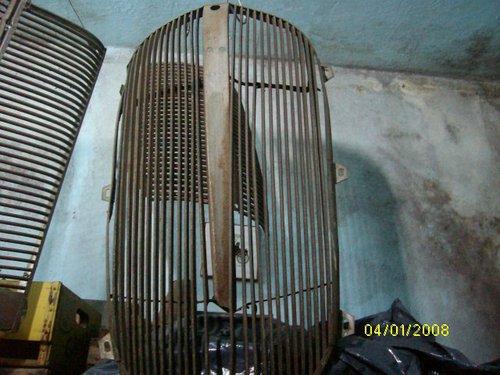 Part 1937 Plymouth Radiator Mask