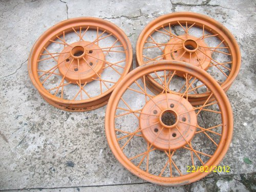 Part Wheels Ford A 1928-29