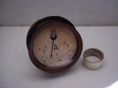 Part Clock Ammeter