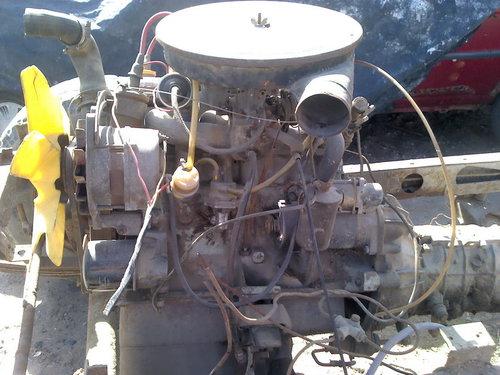 Part Cutting Motor Peugeot 504