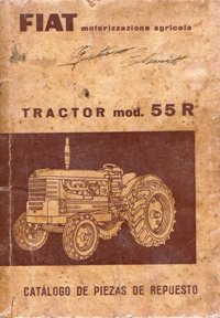 Repuesto Manual Repuestos Fiat R55 Tractor