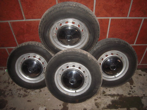 Part Alloy Wheels Fiat 600