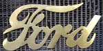 Logo Bronze Radiator Ford Chevrolet