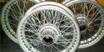Ruedas Rudge Triumph TR3