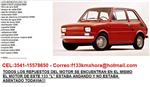 Lote Repuestos Fiat 133