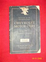 Manual Original Chevrolet 1933.