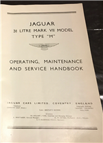 Manual Jaguar Mark Vii