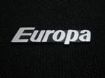 Insignia Trasera Metálica Para Fiat 128 Europa