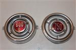 Insignia Delantera Fiat 600