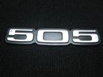 Insignia Baúl Peugeot 505