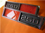 Chevrolet Chevy Ojos Gato 250 Guardabarros