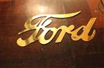 Insignia Radiador Ford Dorada