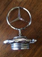 Tapa Radiador Mercedes Benz 170 Sd 1954