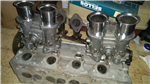 40/40 horizontal Solex Carburetors