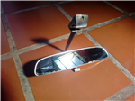 Mirror rear-view mirror and sun visor Ford Fairlane