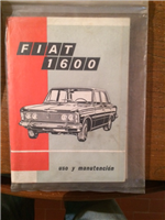 Manual Fiat 1600