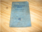 Austin Healey Sprite Mk1 Manual