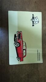 Manual Peugeot 404 Nafta