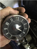 Chevrolet Time Clock 54/58