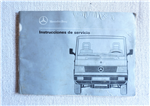 Instructions Service Mercedes Benz 100 D, 140 D, 180 D