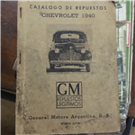 Catalogo Repuestos Chevrolet 1940