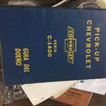 Manual Guantera Chevrolet Pickup 1960