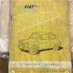 Manual Glove Fiat 600e