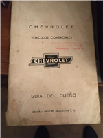 Manual Chevrolet Pickup 1966