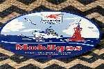 Antiguo Cartel Enlozado Mobilgas Marine