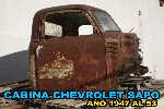 Cabina Chevrolet Sapo Año 1947 Al 53