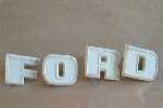Letras Capot Ford F 600 700