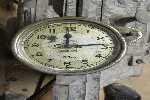 Antiguo Reloj Horario Hispano Años 20 Aporx.