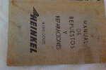 """Manual Repuestos Y Reparaciones """"heinkel"""" Micro Coupe"""