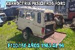 Carrocería Pasajeros Ford F100/150 Año 1993