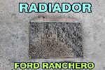 Radiador Ford Ranchero