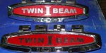 Emblema Ford F-100 Twin Beam