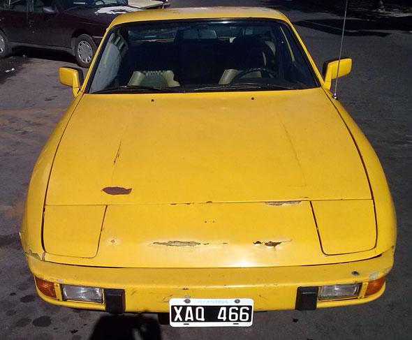 Car Porsche 924 Alemán