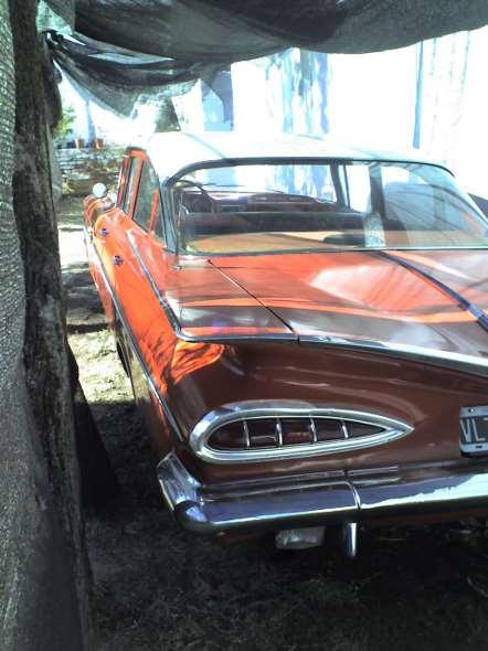 Auto Chevrolet Bel Air 1959