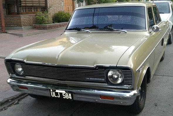 Auto Chevrolet 1971