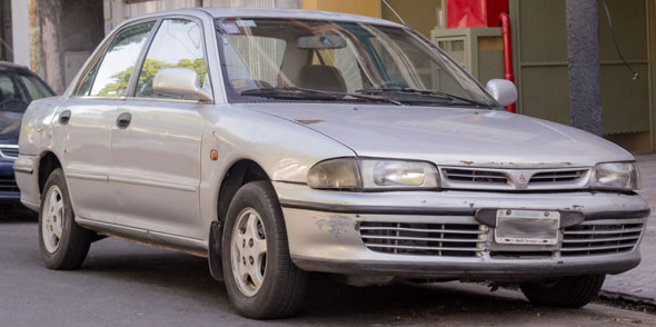 Auto Mitsubishi Lancer 1500 GLX 1993