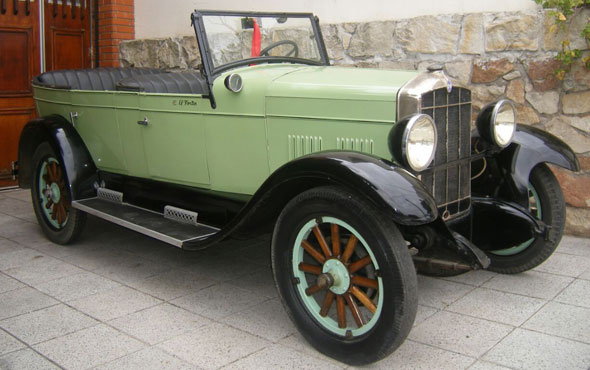 Auto Rugby 1929