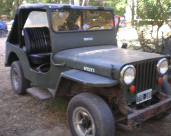 Auto Jeep Willys 1947