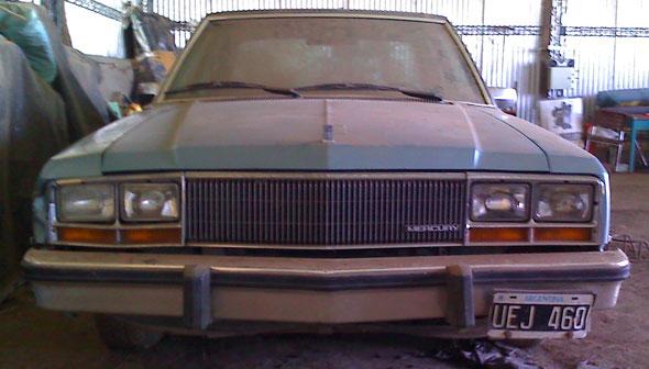 Auto Ford Mercury Zephyr