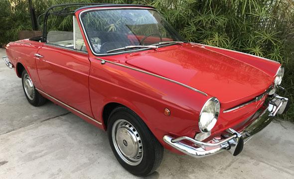 Auto Fiat 800 Spyder